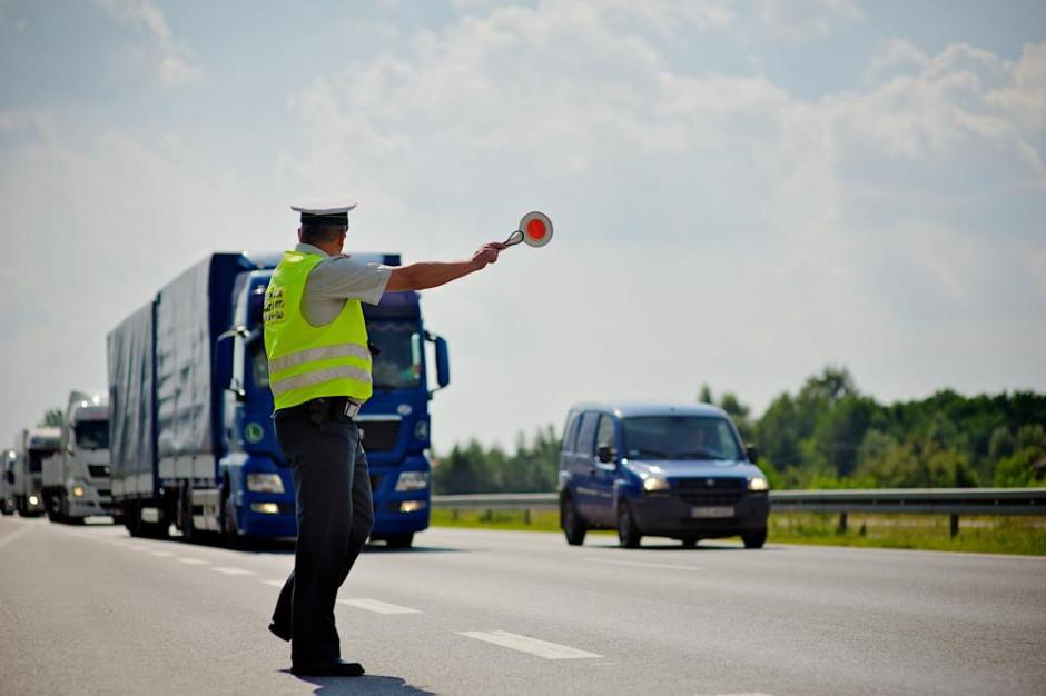 Na autostradzie A4 zatrzymano ciężarówkę z nielegalnym tytoniem