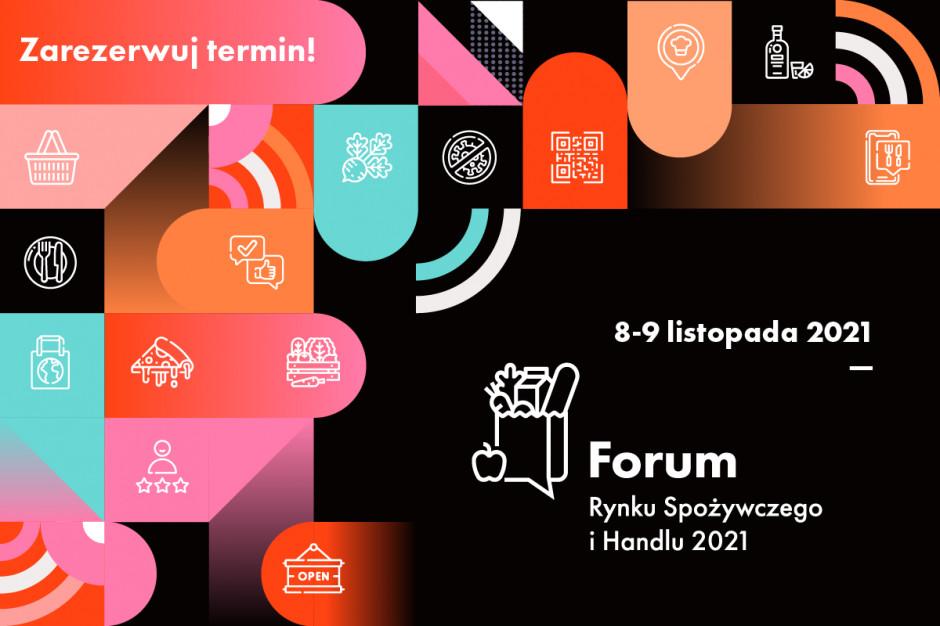 Forum Rynku Spożywczego i Handlu 8-9 listopada 2021. Zarezerwuj termin