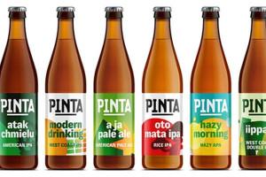 Browar PINTA i jego piwa rzemieślnicze przechodzą rebranding