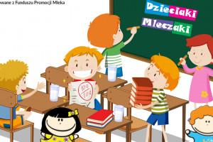 Program Dzieciaki Mleczaki podkreśla wartości odżywcze mleka