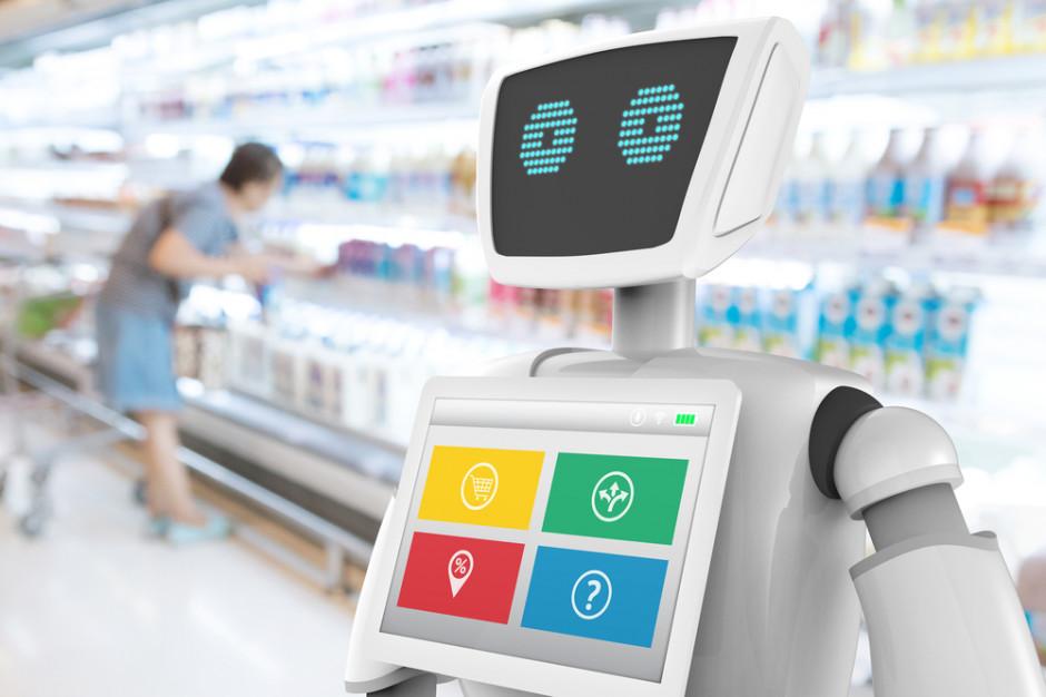 Roboty coraz popularniejsze w branży handlowej