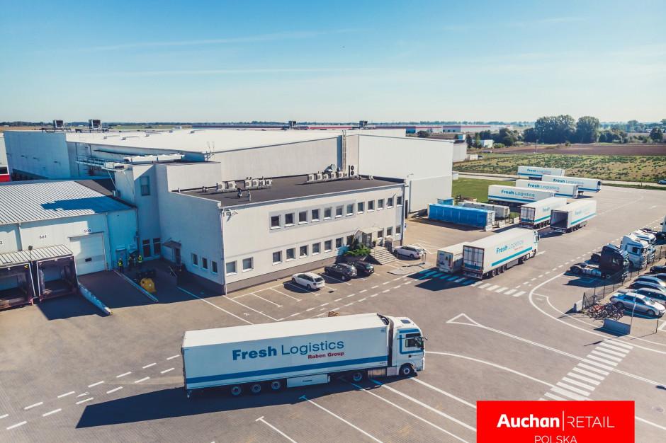 Fresh Logistics podpisał umowę partnerską z Auchan Polska