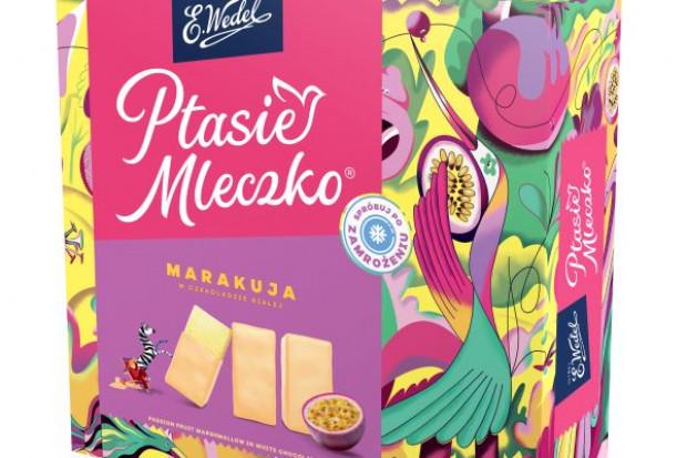 Ptasie Mleczko Marakuja - nowy smak od E.Wedel