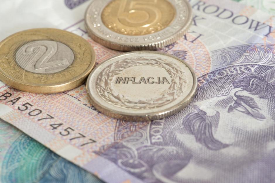 PIE: inflacja w maju ponad 4,5 proc. przez wzrosty cen paliw