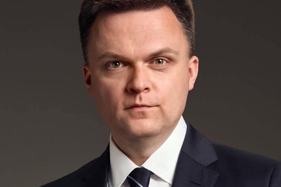 Hołownia: Polski Ład napisany chaotycznie