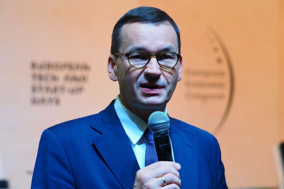 Morawiecki: Polski Ład ma być odrodzeniem dla polskich firm