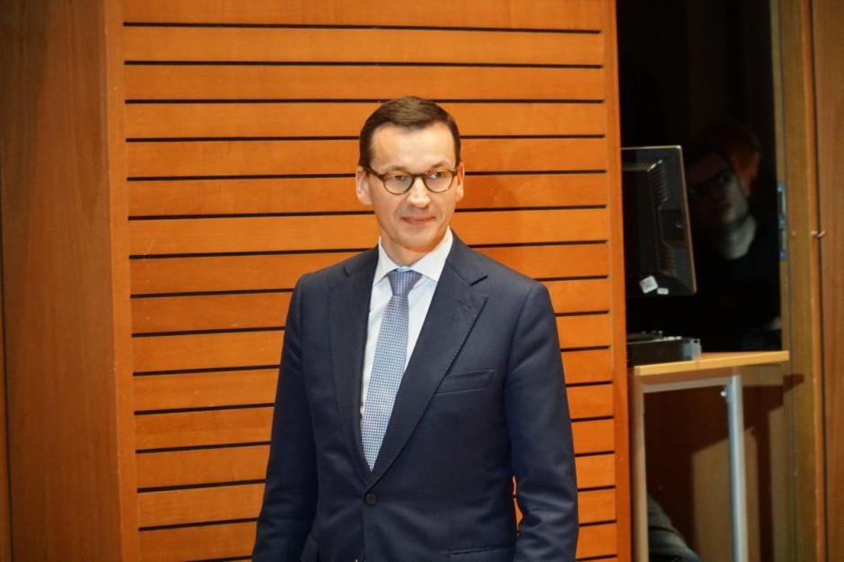 Morawiecki: dopuszczam pewne zmiany w Polskim Ładzie