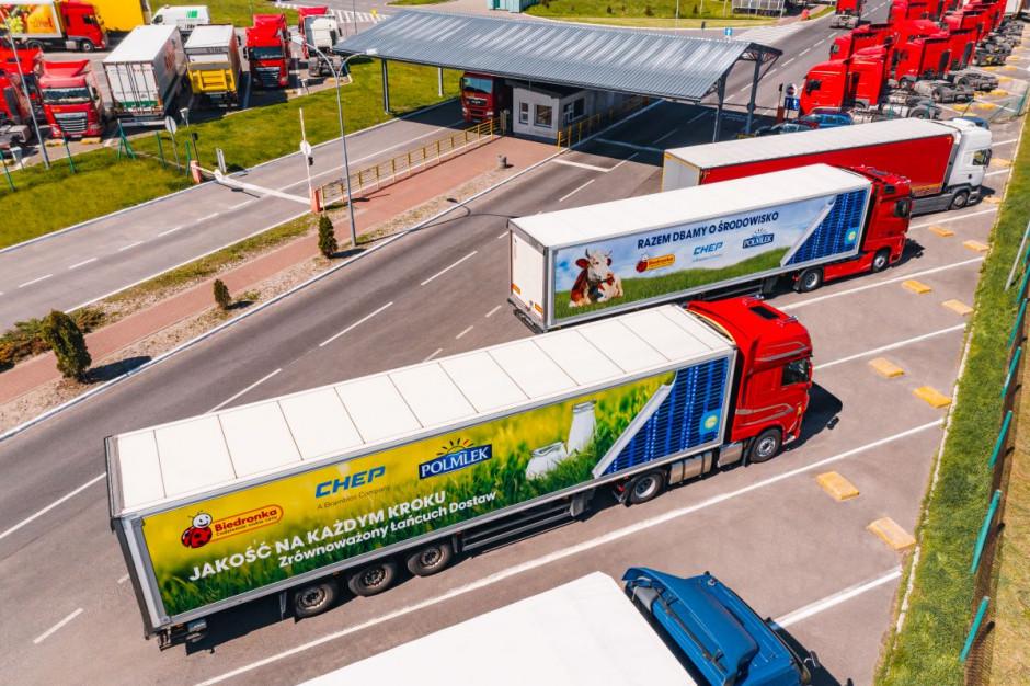 Partnerstwo Biedronki, Polmlek i CHEP w łańcuchu dostaw