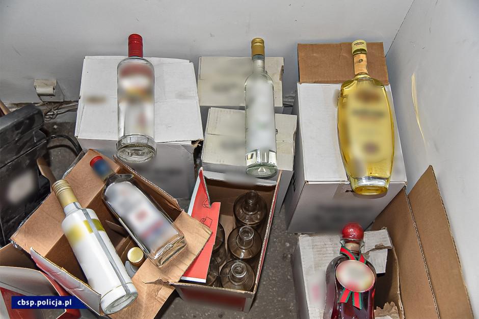 Nielegalna rozlewnia alkoholu w Łodzi zlikwidowana