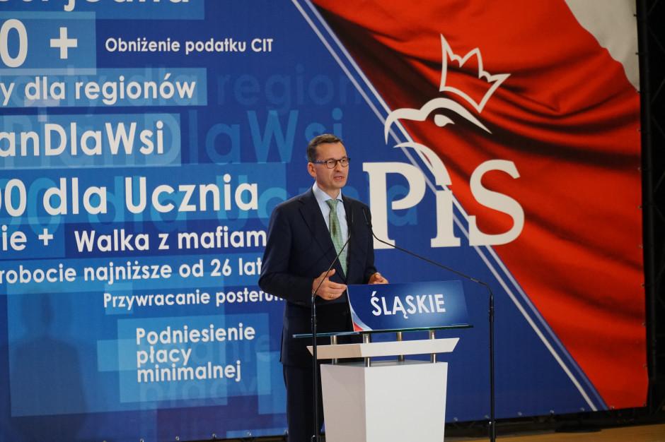 Premier Morawiecki przybył do Brukseli na szczyt UE
