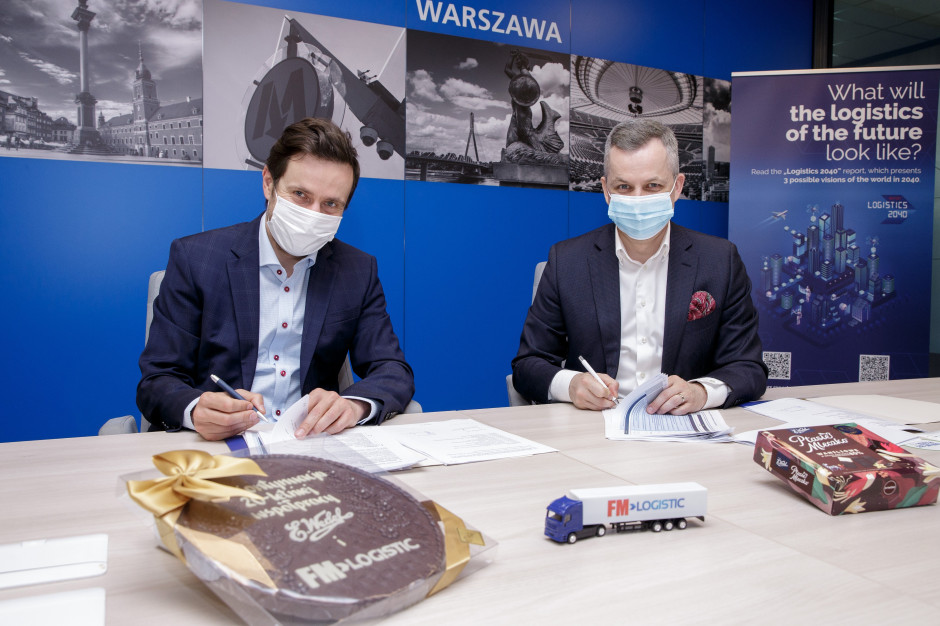 FM Logistic i Lotte Wedel z kolejną umową o współpracy