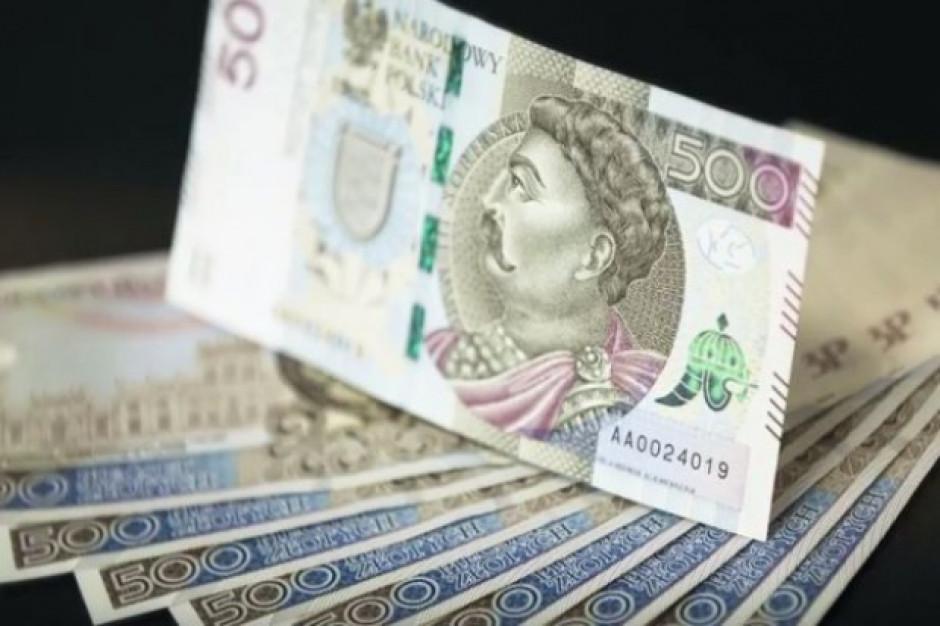 Podaż pieniądza w kwietniu spadła o 2,5 mld zł