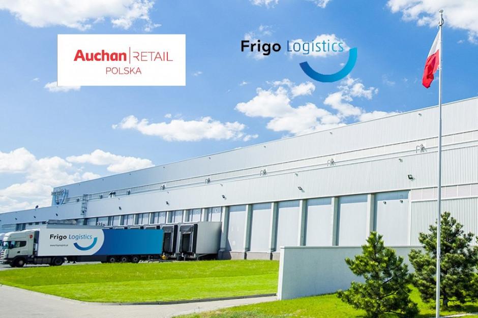 Frigo Logistics będzie obsługiwać Auchan Retail Polska