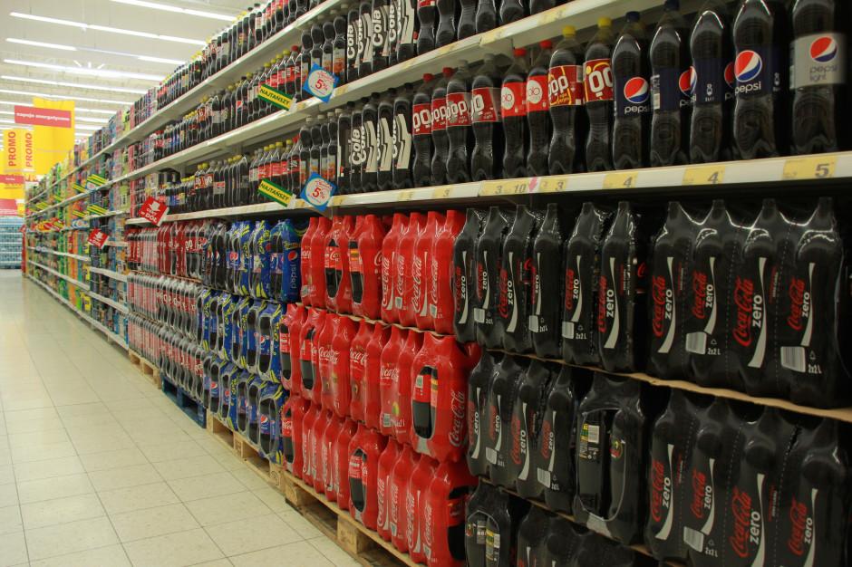 Przez opłatę cukrową ceny napojów gazowanych wzrosły o 32 proc.