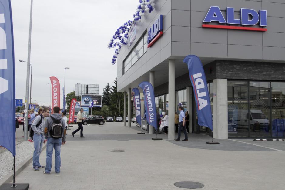 Aldi otwiera sklep po Tesco