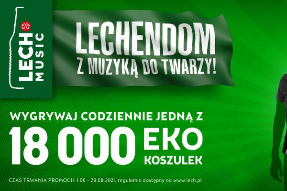 Letnia aktywacja marki Lech: Lechendom z muzyką do twarzy
