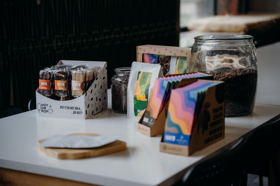 Manufaktura Czekolady i palarnia kawy HAYB we wspólnym projekcie