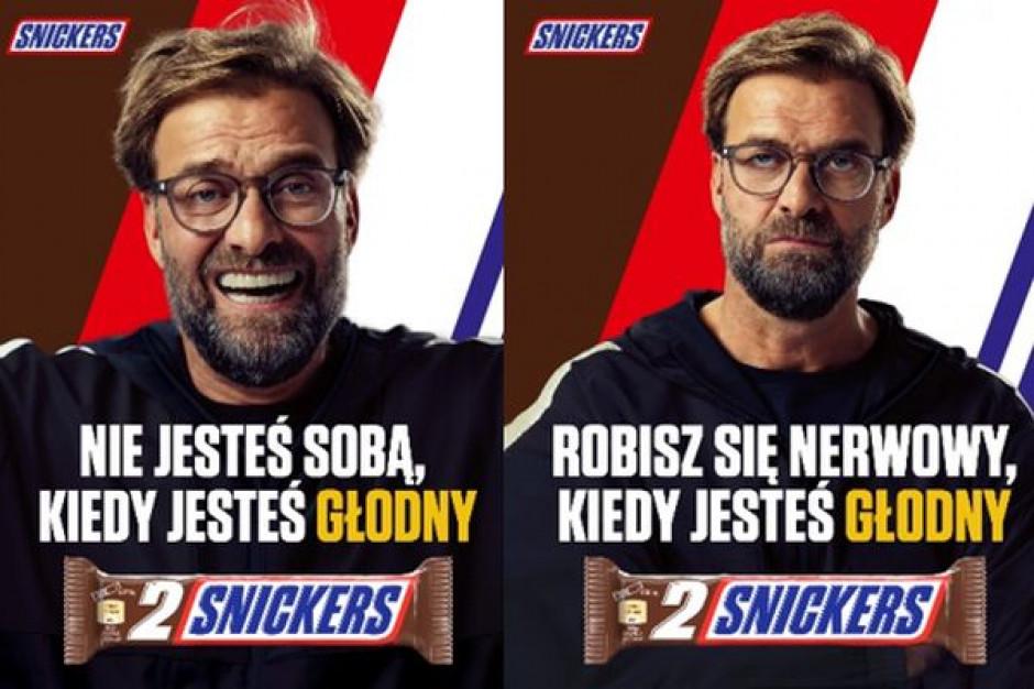 Jurgen Klopp w kampanii batonów Snickers z okazji Euro2020