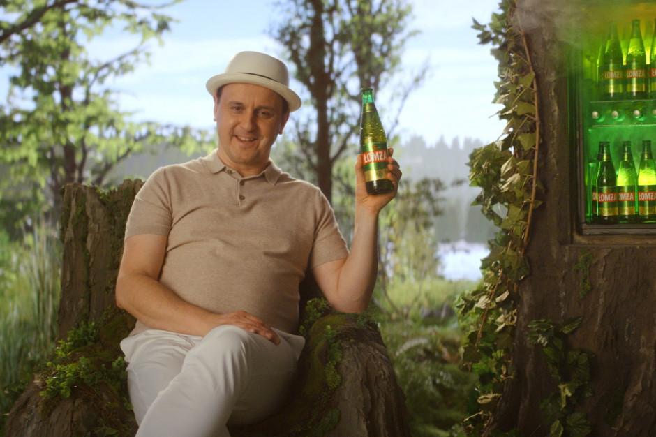 Adam Woronowicz w kolejnym spocie reklamowym piwa Łomża