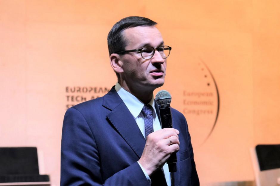 Premier Morawiecki: częścią Polskiego Ładu jest sprawiedliwy rozwój