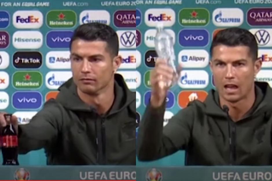 Cristiano Ronaldo przeciwko Coca-Coli: