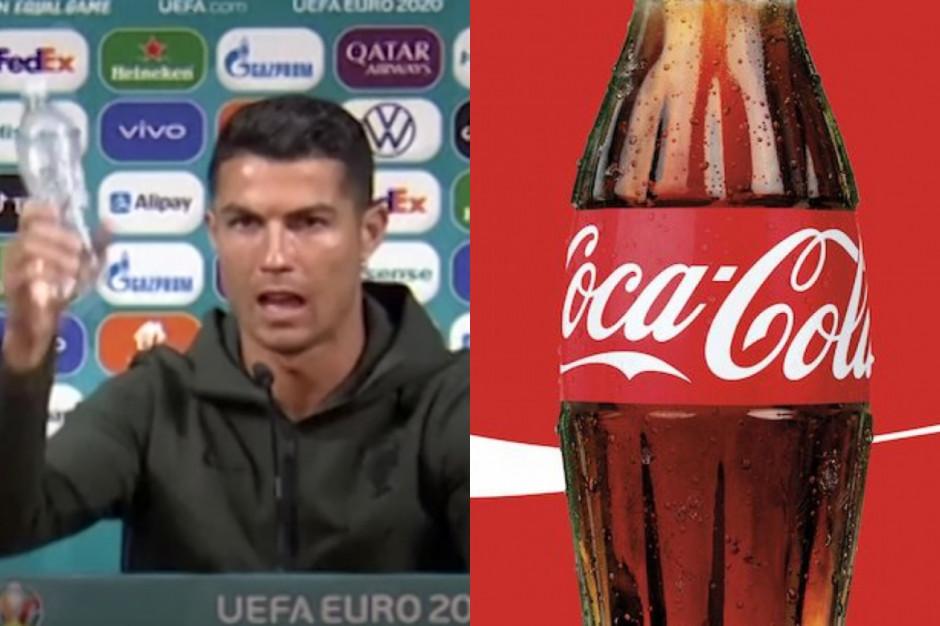 Coca-Cola traci przez Cristiano Ronaldo