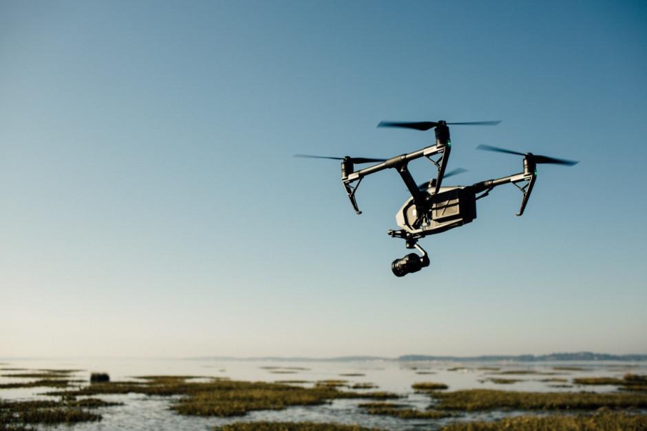 Drony mogą być wykorzystywane m.in. w pomiarach pól