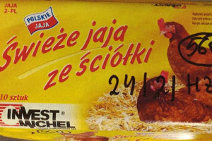 GIS ostrzega: salmonella na powierzchni skorupek jaj