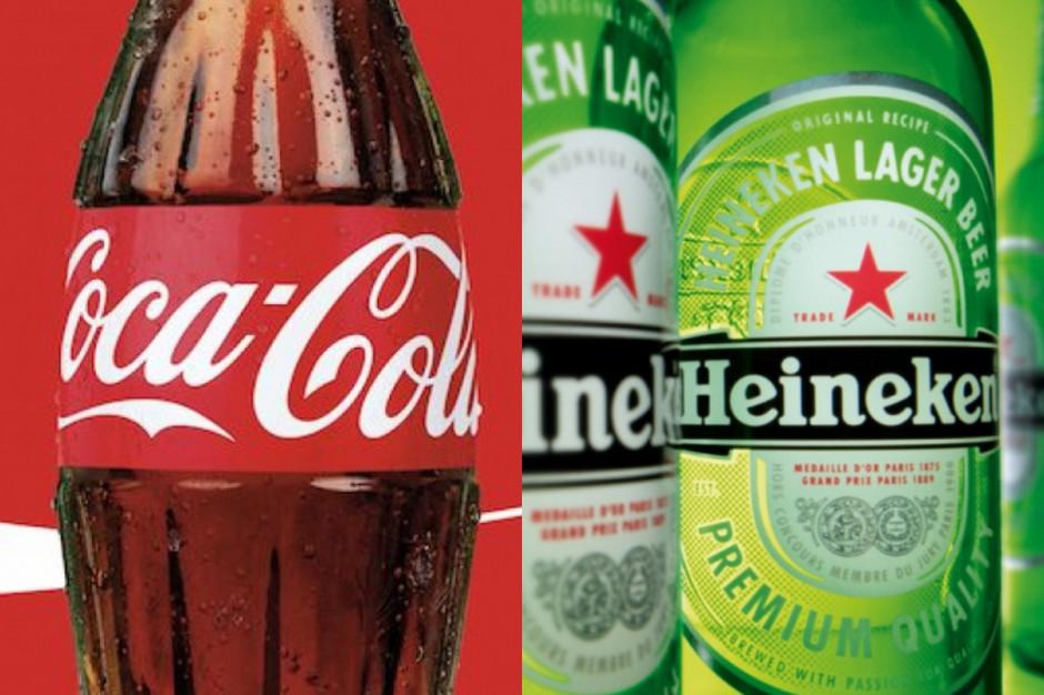 Coca-Cola i Heineken nabici w butelkę przez gwiazdy Euro 2020