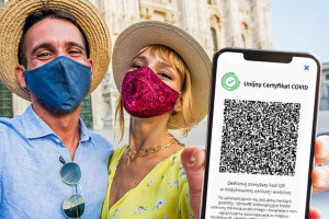 Unijny Certyfikat COVID dostępny w aplikacji mObywatel