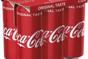 Coca-Cola zastąpi folię w wielopakach