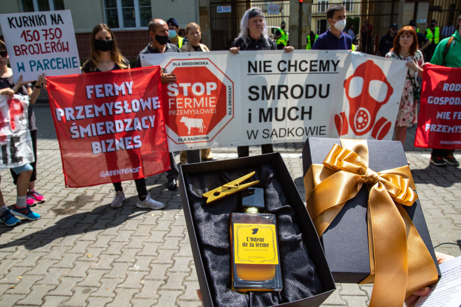 Greenpeace krytykuje projekt ustawy odorowej