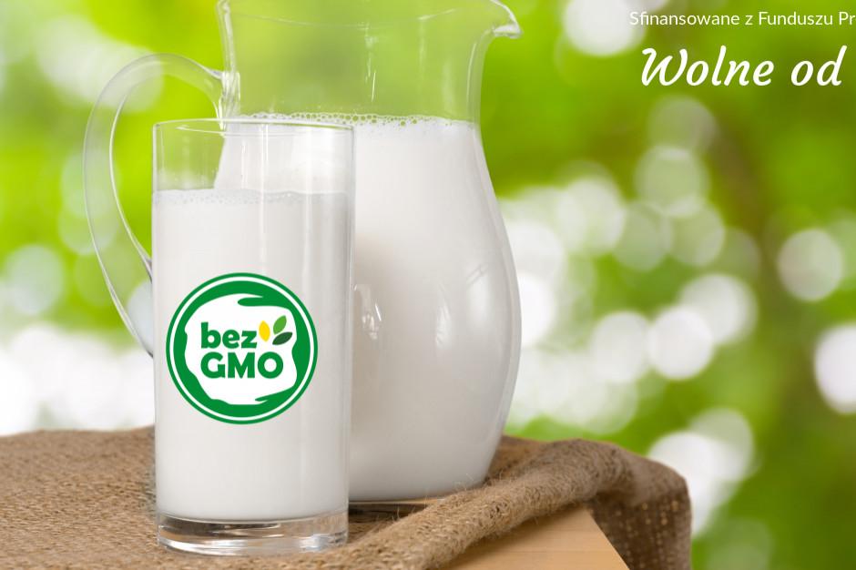 Wiodące mleczarnie postawiły na produkcję bez GMO
