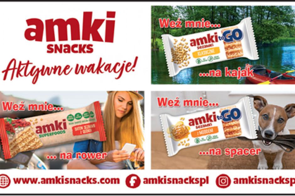 Marka Amki Snacks zachęca do aktywnych wakacji!