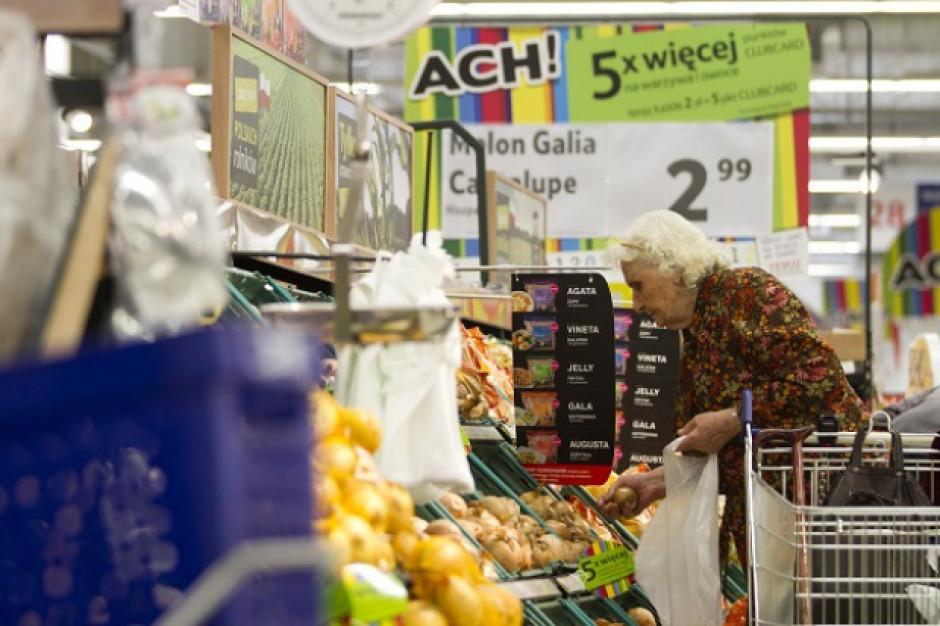 Sprzedaż w supermarketach wzrosła w maju rok do roku