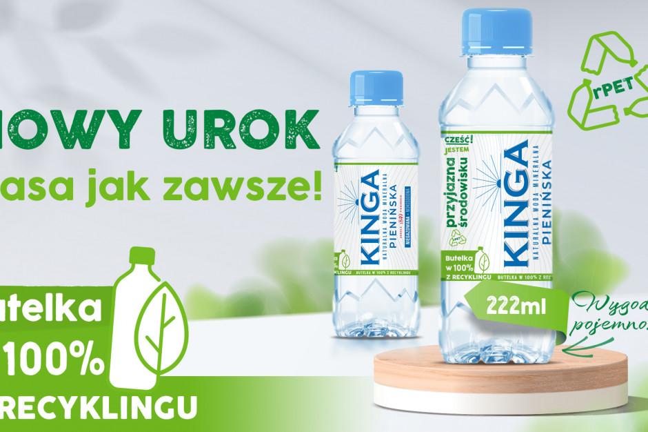Kinga Pienińska z nowym formatem butelek