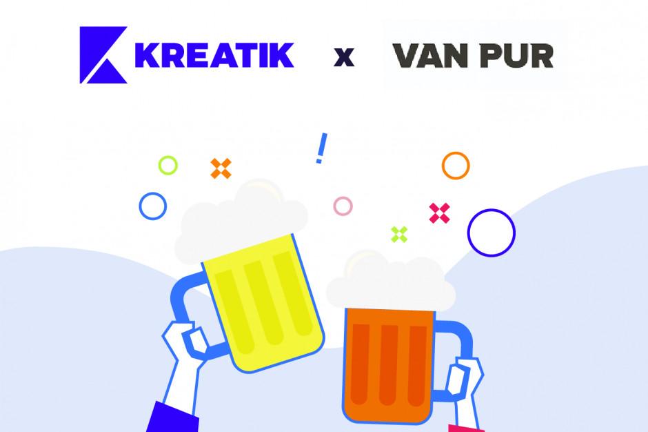 Van Pur rozpoczął współpracę z agencją Kreatik