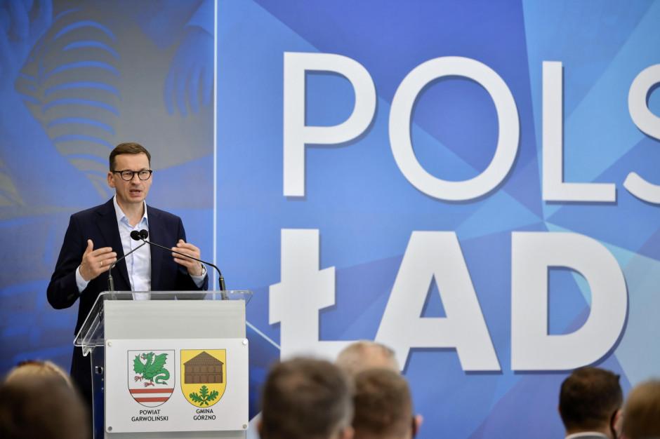Morawiecki: Polski Ład jest po to, aby Polacy mogli zarabiać więcej