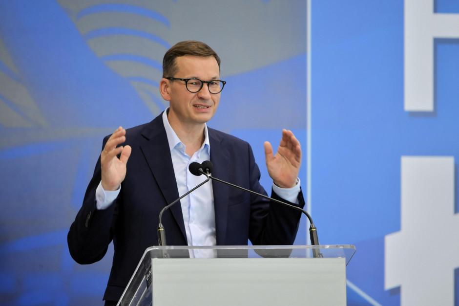 Premier: Polski Ład zapewni nowe miejsca pracy i inwestycje