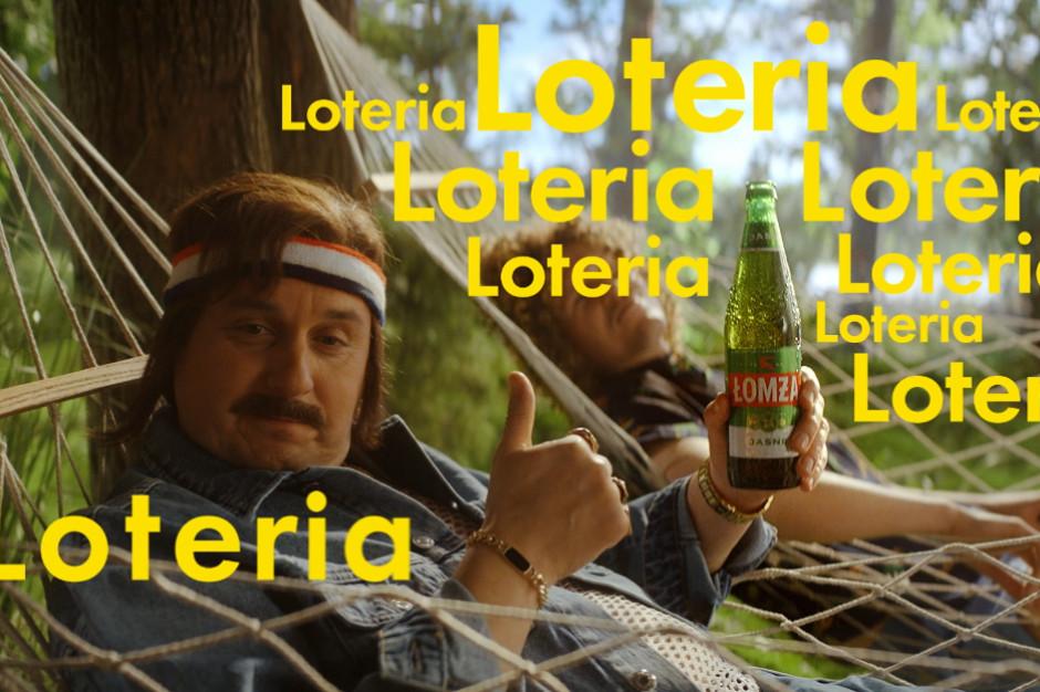 Łomża w nowym spocie reklamowym promuje loterię kapslową