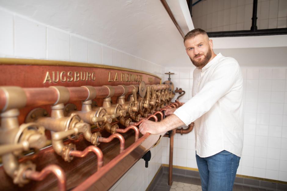 Jan Błachowicz ambasadorem piwa Browaru Zamkowego Cieszyn