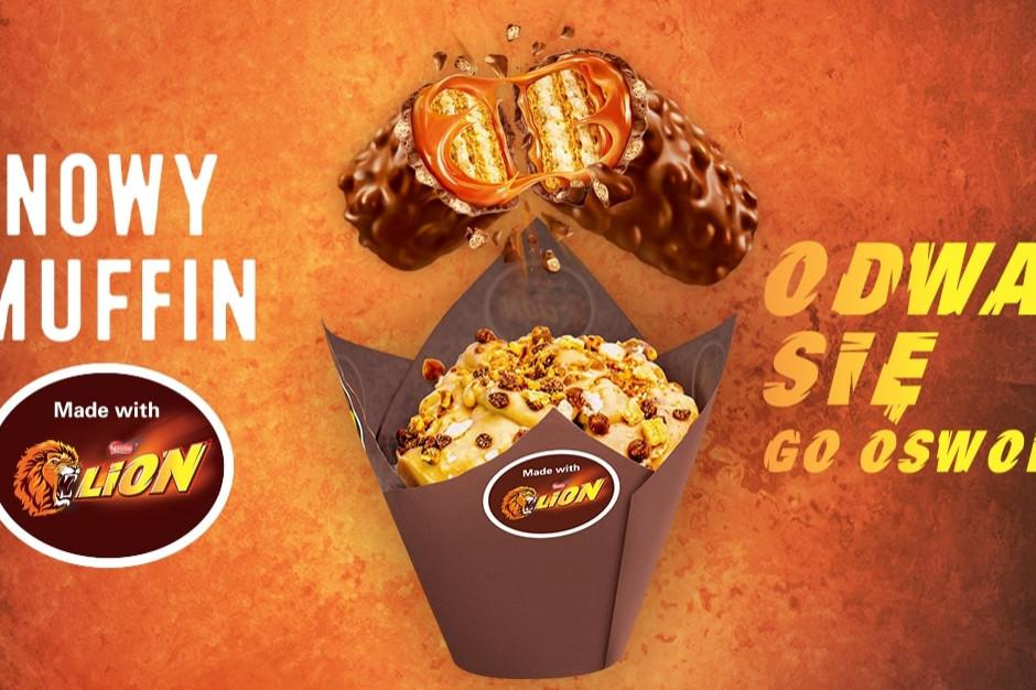 Muffinki z Lionem: Nestlé rozwija ofertę z producentem piekarniczym