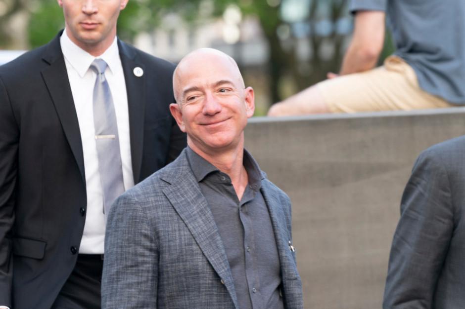 Jeff Bezos poleciał w kosmos