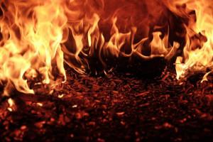 W Sulinowie spłonęło 50 hektarów zboża