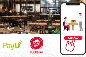 """Pizza Hut wprowadza nową usługę """"Zamów online do stolika"""""""