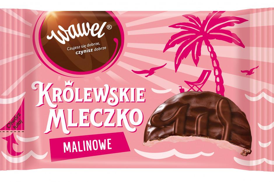 Wawel wprowadza nowy smak pianek w czekoladzie