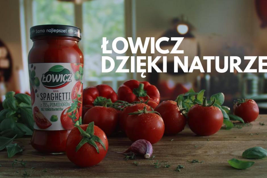 Nowa kampania sosów Łowicz