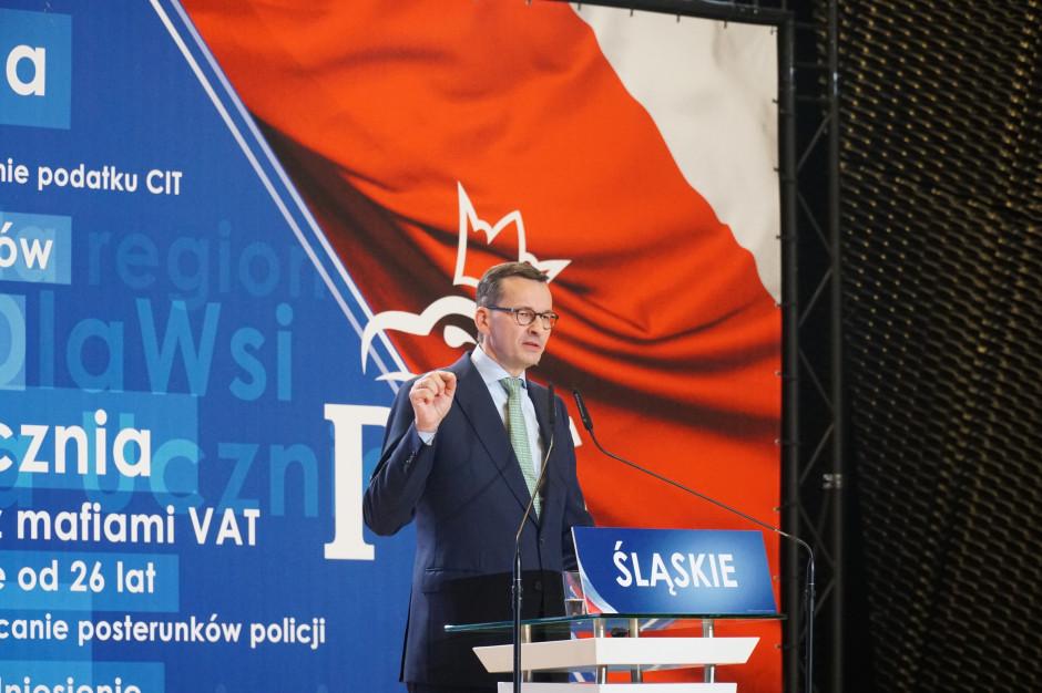 Morawiecki: wynagrodzenia rosną dwa razy szybciej niż inflacja