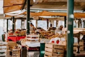 Ceny czereśni, borówek, malin i jabłek letnich w hurcie