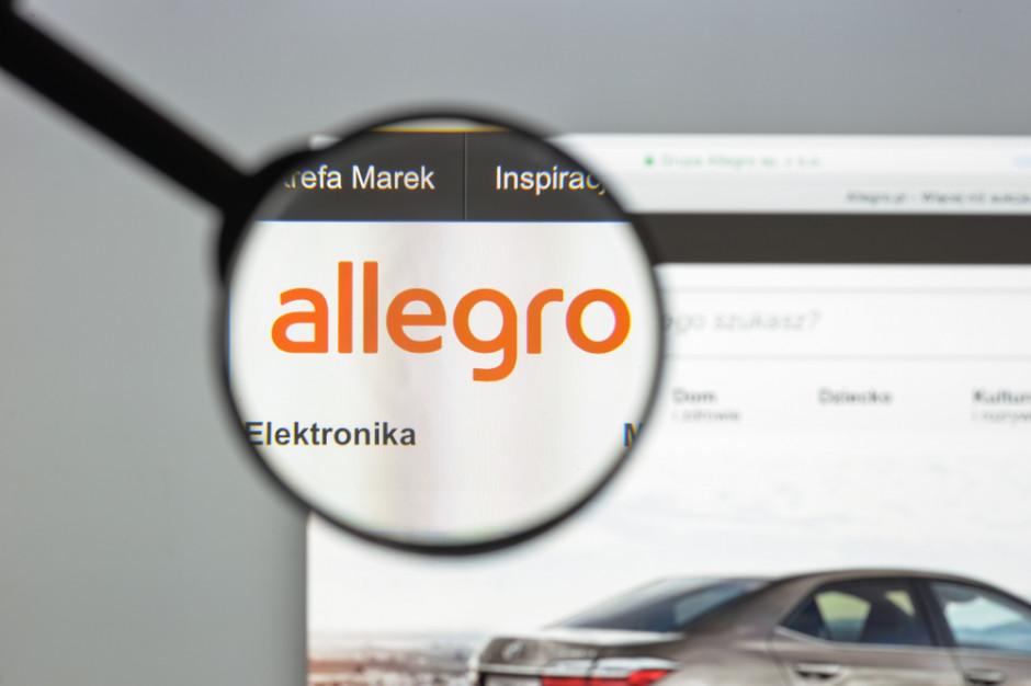 Allegro z dużym wzrostem przychodów
